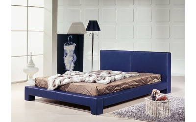 Leatherette bed