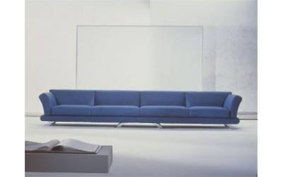 Leatherette sofa design