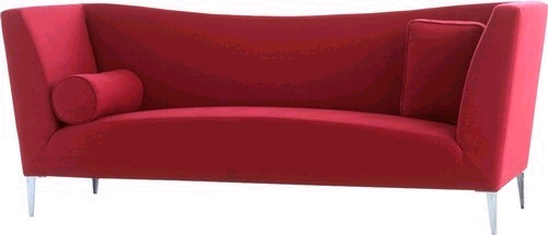 Leatherette sofa design